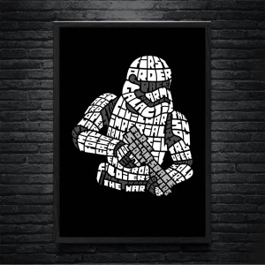 Plakat Star Wars -Trooper