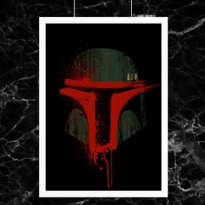 Plakat Star Wars - Boba