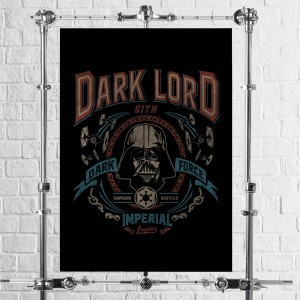 Plakat Star Wars - Dark Lord