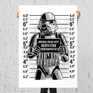 Plakat Star Wars - Prison Trooper
