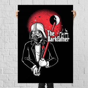 Plakat Star Wars - Darkfather