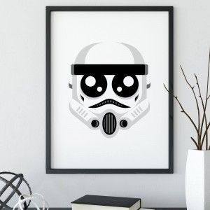 Plakat Star Wars - Mini Trooper