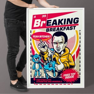 Plakat Breaking Breakfast