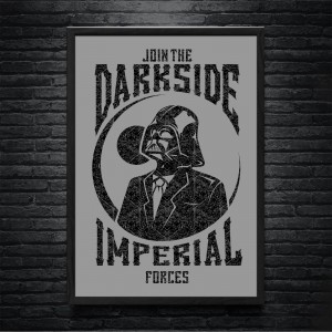 Plakat Star Wars - Darkside Imperial