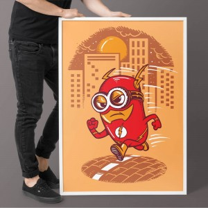 Plakat Flash Minion