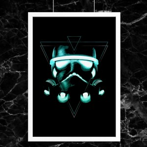 Plakat Star Wars - Light Trooper