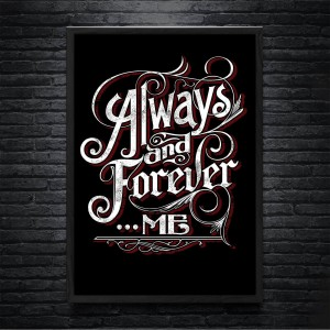 Plakat Always And Forever Me