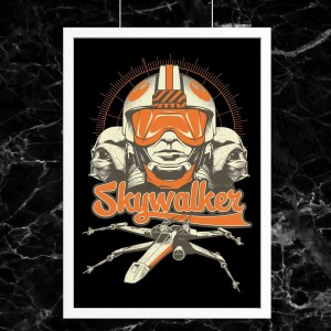 Plakat Star Wars - Skywalker