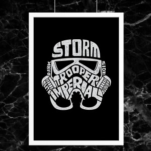 Plakat Star Wars - Storm Trooper