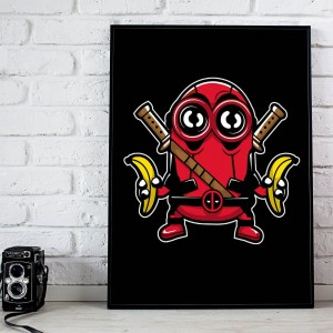 Plakat Minion Deadpool
