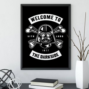 Plakat Star Wars - Welcome To The Darkside